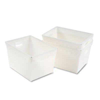 Kwik-File Mail Storage Totes, 18?w x 13?d x 11?h, 3/Carton, Sold as 3 Each