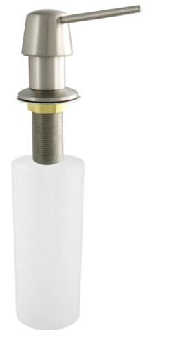 LDR 551 P1200SS Deluxe Soap/Lotion Dispenser for Kitchen or Lavatory Sink, Stainless Steel