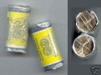 2001 - P & D - FROM U.S. MINT ROLL - SACAGAWEA GOLDEN DOLLAR SET