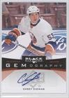 Casey Cizikas New York Islanders (Hockey Card) 2012-13 Upper Deck Black Diamond Gemography [Autographed] #Gem-Cz