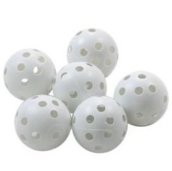 ProActive 6-Pack Essential Series Deluxe Practice Balls - White