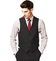 Autograph 5 Button Waistcoat with Wool