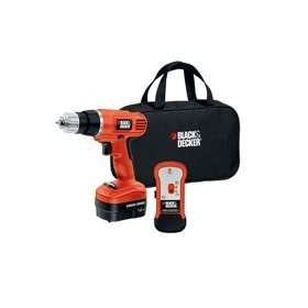 Black & Decker GCO14SFB 14-Volt Ni-Cad 3/8-Inch Cordless Drill/Driver with Storage Bag and Stud Sensor