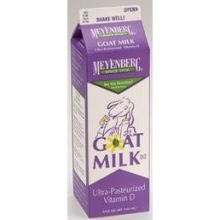 Meyenberg Ultra Pasturized Goat Milk, 32 Ounce -- 12 Per Case.