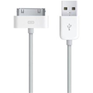 OEM Dock Connector/USB Charging Cable for Apple iPhone and iPod