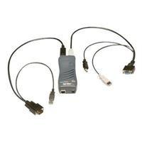 1PORT Local + Remote PS2 USB Securelinx Spiderdu KVM Over Ip