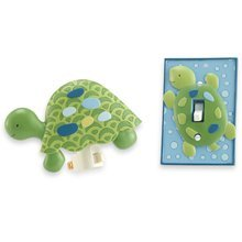 CoCaLo Baby Nightlight & Switchplate Set - Turtle Reef