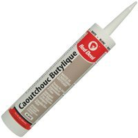 Red Devil Inc 00134CA Butly Rubber Sealant 10.1Oz White