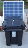 5000 Watt 200ah Pure Sine Wave Solar Generator & (2) 100 watt Solar Panels