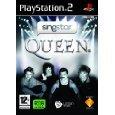 Singstar Queen (PS2) & 2 Singstar Microphones