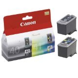 Canon Pg-40 / Cl-41 Multi Pack - Ink Tank