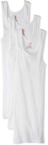 Hanes Men's 3 Pack Ultimate Tagless Tank, White, 4X-Large (Undershirt Tank compare prices)