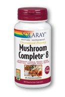 Solaray Mushroom Complete 8 -- 90 Vegetarian Capsules