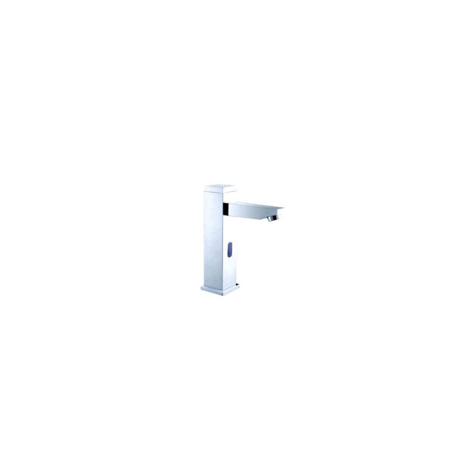 Contemporary Sensor Chrome Bathroom Sink Faucet