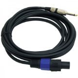 PYLE-PRO PPSJ15 - 15ft. 12 Gauge Professional Speaker Cable Speakon to 1/4''