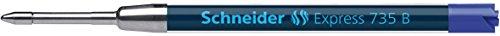 Schneider-eXPRESS 735 stylos mine b, m, bleu, iSO 12757-2 g2
