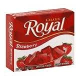 Royal Gelatin Strawberry 1.4 OZ (Pack of 24)