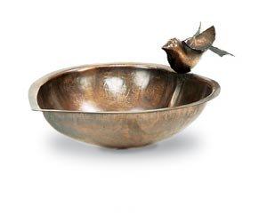 Achla Designs Heart Shaped Birdbath with Stand