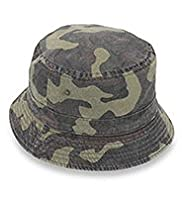 Pure Cotton Camouflage Pull On Hat