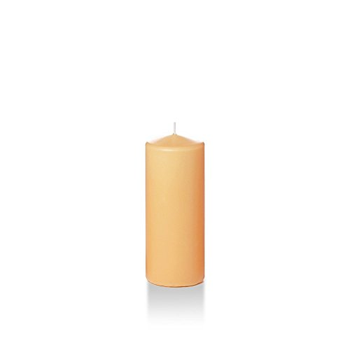 Yummi Slim Round Pillar Candles 2.25