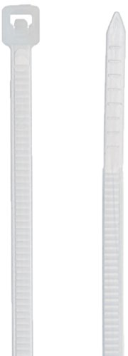 Cable Tie Supply Tensile Strength, Natural Nylon Cable Tie, 8 Inch, 18 lb, Bag of 1000 (8 Inch Cable Ties 1000 compare prices)