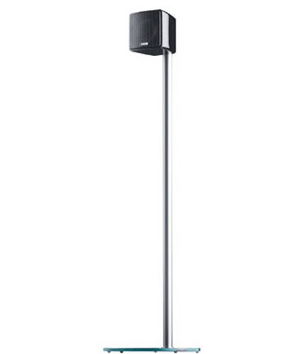 Canton-LS-150-Standfu-Paar-fr-Lautsprecher-schwarzsilber