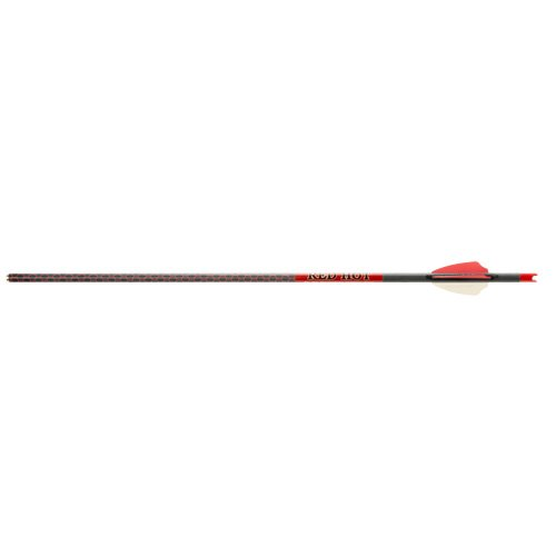 Penetration aluminum or carbon arrows hot
