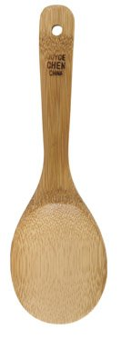 Burnished Bamboo Wooden Rice Spoon
