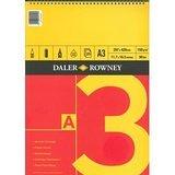 Daler Rowney Roja & Amarillo Sketch Pad - A3 Engomado