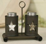 Star Products Pennsylvania Star Salt and Pepper Shakers with Caddy