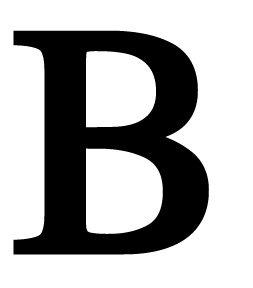 Amazon.com - Letter B Medium - Irons