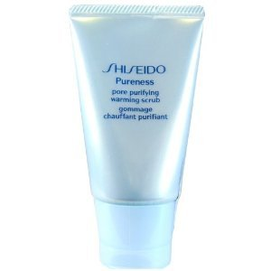 Shiseido Pureness Pore Purifying Warming Scrub Scrub for Unisex, 1.7 Ounce