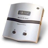 Dock N Talk - Cell Phone Docking Station - Landline Interface Device