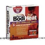Beyond BodiHeat Neck, Shoulder, and Wrist Pain Relief-(1 PACK, 3 EACH)