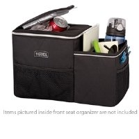 Thermos Trvl Insulated Front Seat Organizer, Black front-932107