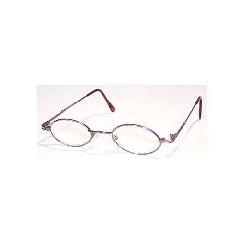 Reading Glasses Frame Names : Amazon.com : Purple Oval Metal Frame, 3.50 Strength, by ...