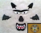 Werewolf Push In Pumpkin Decorating Set