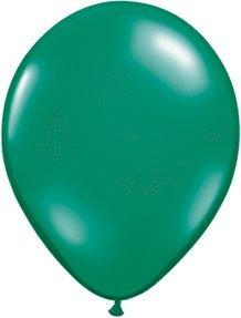 """Pioneer Balloon Company 100 Count Latex Balloon, 11"""", Emerald Green"""