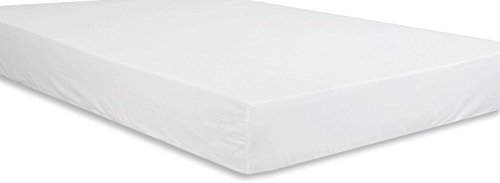 Utopia Bedding Cotton sateen Fitted Sheet (King, White) - Premium Quality Combed Cotton Long Staple Fiber - Breathable, Durable & Comfortable with Deep Pocket (Fitted Bed Sheet King compare prices)