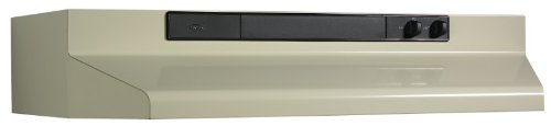Broan 463008 Under-Cabinet Range Hood with Infinitely Adjustable Speed Control, 30-Inch, Almond (Kitchen Exhaust Fan Ducted compare prices)