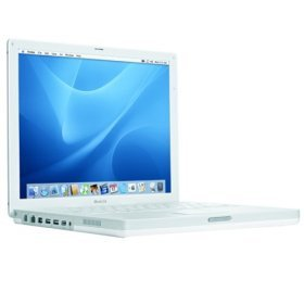 Apple iBook Laptop 12.1 M9164LL/A (800-MHz PowerPC G4, 256 MB RAM, 30 GB Hard Drive, DVD/CD-RW Drive)