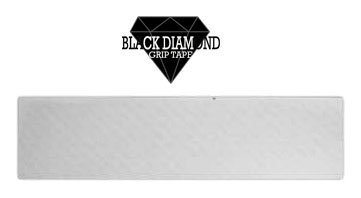Black Diamond Old School Grip tape Sheet Clear 10 x 34