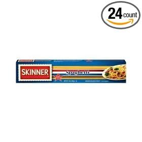 Skinner Spaghetti Pasta, 7 Ounce -- 24 Case