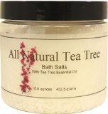 All Natural Tea Tree Bath Salts, 16 ounces