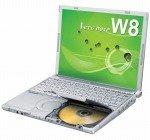 パナソニック レッツノートW8(Cel723、XP ProDGサービス済 、無線LAN、DVD-ROM、指紋認証センサー) CF-W8UWVAAS