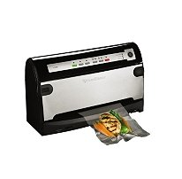 Foodsaver Smartseal V3485 Brushed Stainless Steel and Black (3400 Foodsaver compare prices)