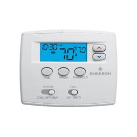 White Rodgers 1F80-0261 Single Stage 5/1/1 Programmable Digital Thermostat