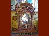 int. d'ailleurs - Big Jharokha hand carved mirror - MIR061