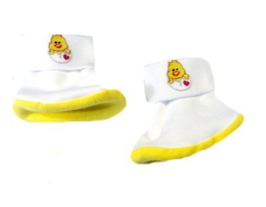 Charming Chick Baby Booties (Small Preemie 3-6 Pounds) front-110876