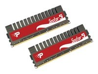 Patriot Sector5 G Series 8GB (2 x 4GB) 240-Pin DDR3 PC3-12800 1600MHz CAS 9-9-9-24 For Intel P55 Systems PGV38G1600ELK
